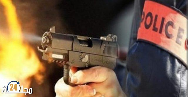 العيون..موظف شرطة يوقف شخص باستعمال سلاحه الوظيفي هدد سلامة المواطنين و عناصر الشرطة