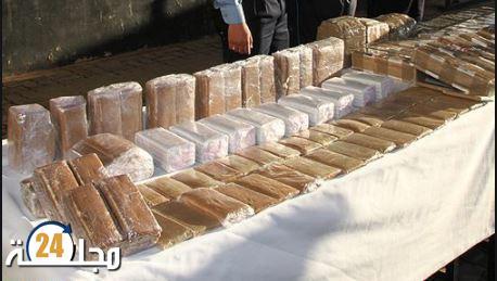 الحسيمة .. إحباط عملية للتهريب الدولي للمخدرات