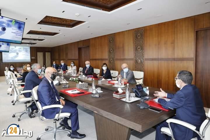العثماني يستقبل الفيدرالية المغربية لصناعة الأدوية والابتكار الصيدلي