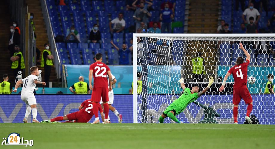 كأس أوروبا: إيطاليا تفتتح البطولة بثلاثية في مرمى تركيا