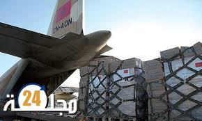 ثلاث طائرات تتوجه إلى تونس محملة بالمساعدة الطبية العاجلة التي أمر بها جلالة الملك