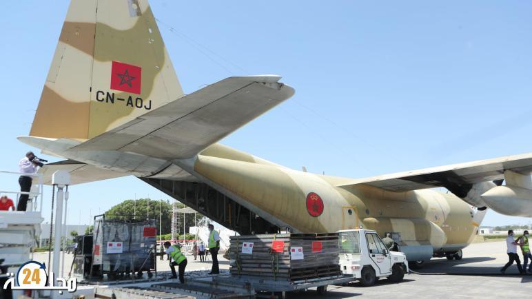 وصول طائرة جديدة إلى تونس محملة بالمساعدة الطبية العاجلة