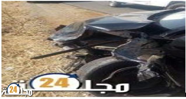 حادثة سير خطيرة ترسل 3 أشخاص إلى المستعجلات