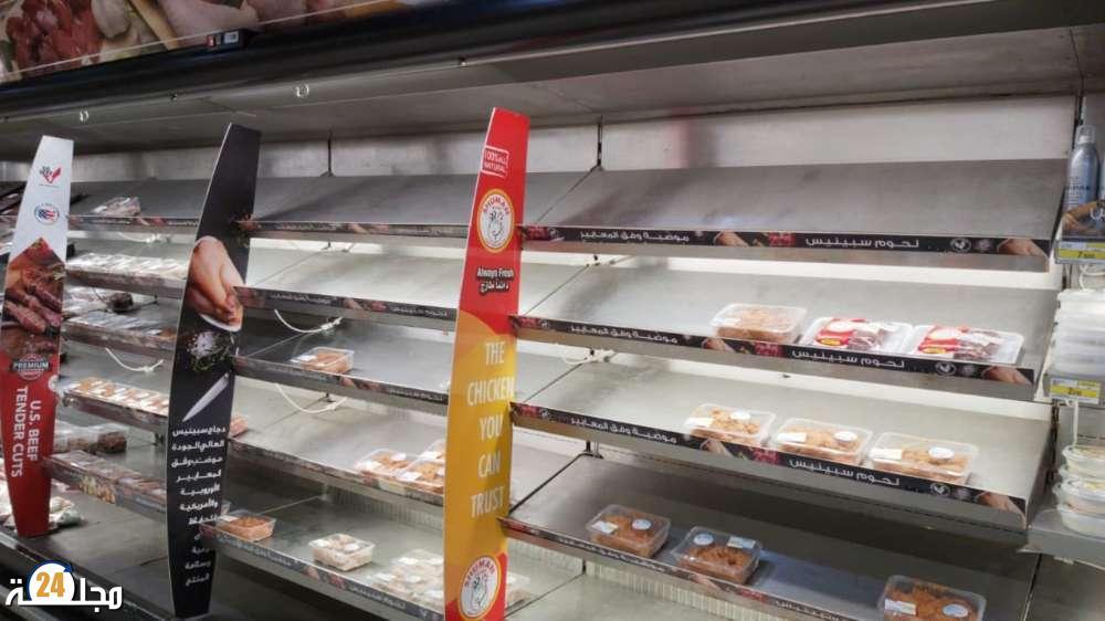 بريطانيا: اختفاء اللحوم من المتاجر الغذائية