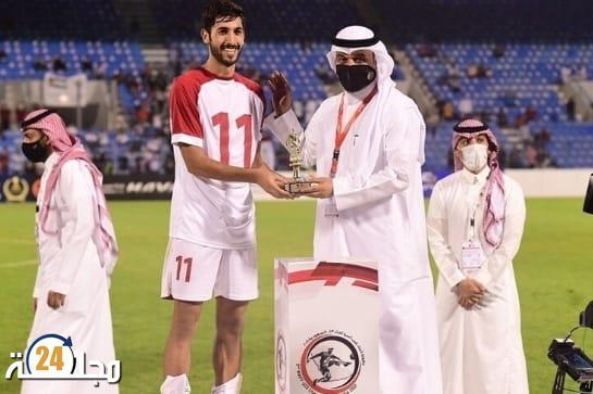 """الأردن يفوز بكأس """"بطولة غرب آسيا"""" بعد تفوقه على السعودية بثلاثة أهداف مقابل واحد"""