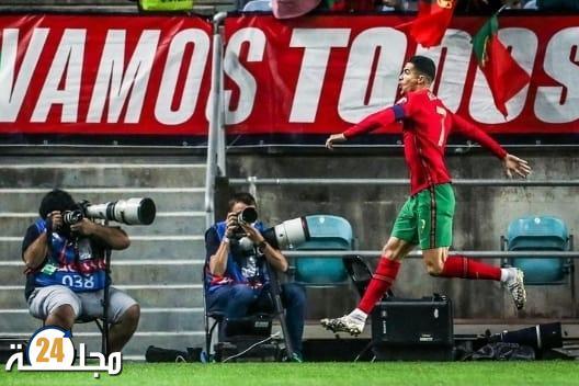 """البرتغال تسحق لوكسمبورج في ليلة """"هاتريك"""" رونالدو"""