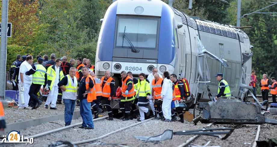 فرنسا.. مصرع ثلاثة مهاجرين في حادث قطار