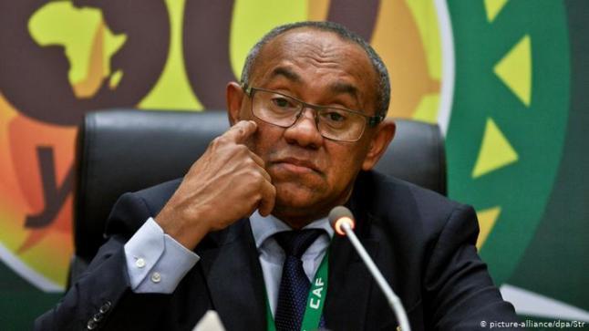 """الإتحاد الدولي لكرة القدم يوقف رئيس الاتحاد الافريقي """"CAF"""" أحمد أحمد 5 سنوات"""