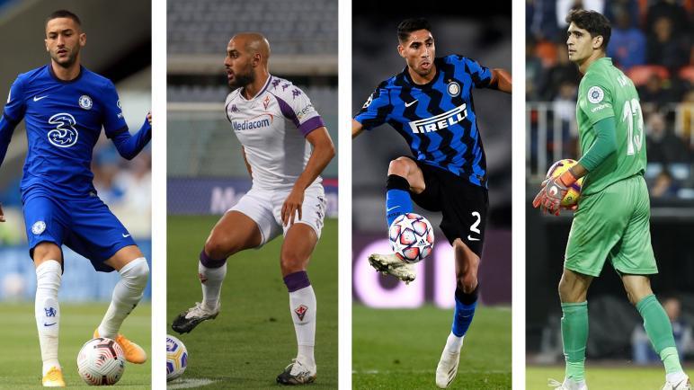 """ترشيح أربعة لاعبين مغاربة لنيل جائزة """"أفضل لاعب مغاربي في السنة"""" لمجلة """"فرانس فوتبول"""""""