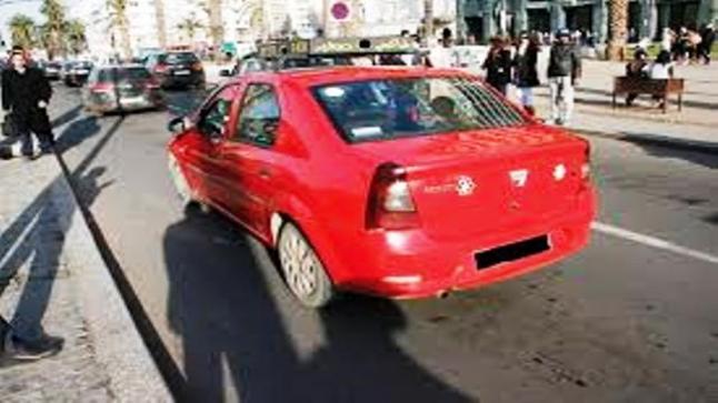 بعد ساعات..سلطات أكادير تعثر على سيارة الأجرة المسروقة