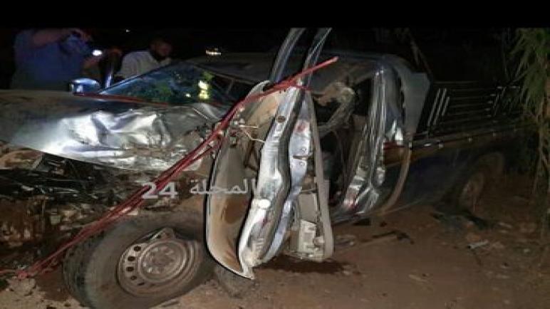 حادثة سير خطيرة كادت أن تودي بحياة شخص باشتوكة