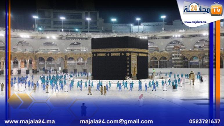 وصول الدفعة الأولى من الحجاج الى مكة