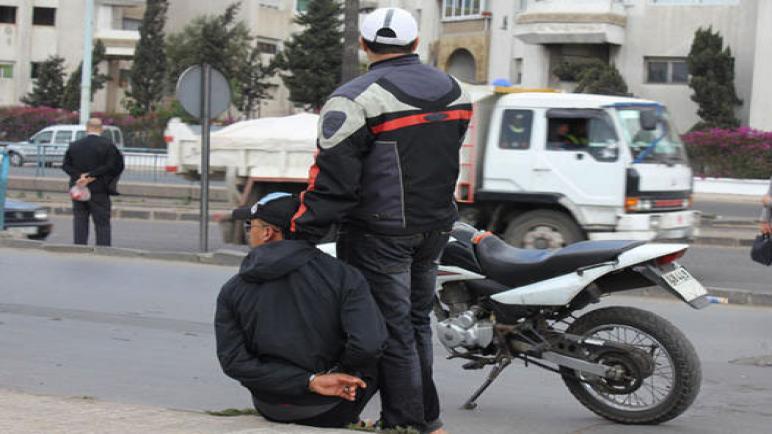 السلطات الأمنية بالرباط و الدار البيضاء تواجه خروقات الدراجات النارية