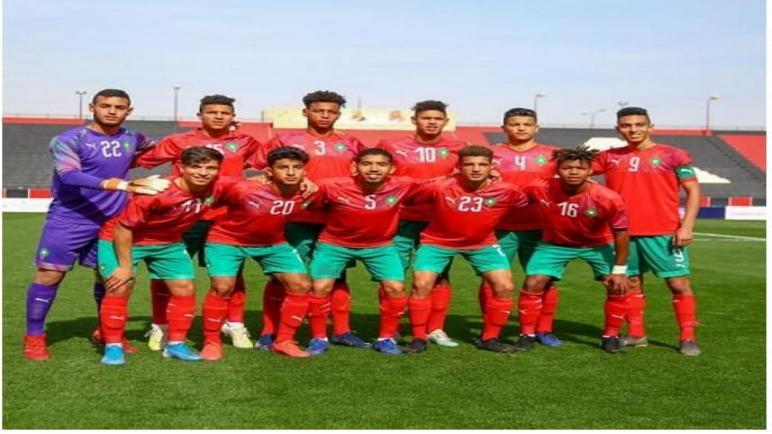 المنتخب المغربي لكرة القدم للشبان يحط الرحال بالعيون