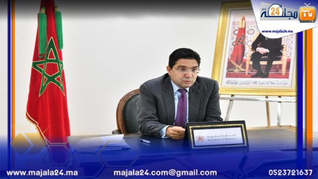 """السيد بوريطة: """"الأمن الغذائي وقطاع الخدمات اللوجستية ركيزتان أساسيتان لإرساء شراكة استراتيجية بين المغرب والبرازيل"""""""