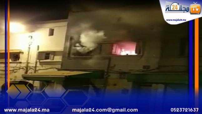 الجديدة…مصرع محام سابق إثر حريق مهول داخل منزله