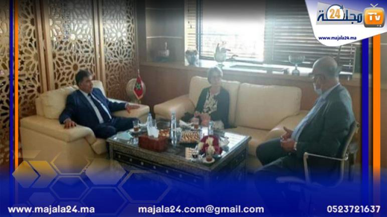 رئيس جهة سوس ماسة يستقبل القنصل العام الجديد للجمهورية الفرنسية بمدينة اكادير