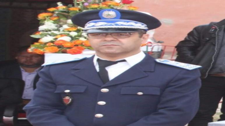 تعيين أزهار رئيسا للمنطقة الأمنية بمدينة تزنيت