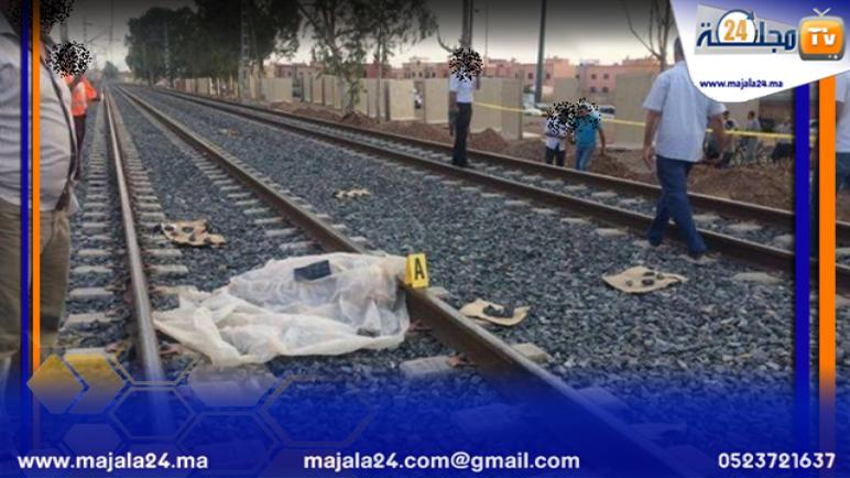صادم جدا…قطار يدهس حمارا و صاحبه ويحولهما إلى أشلاء باقليم الجديدة